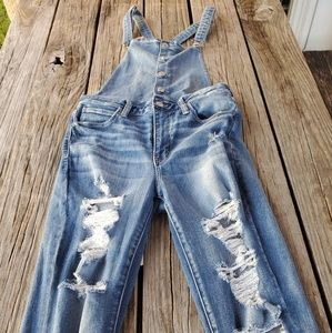 American Eagle Next Level Stretch Overalls size 10